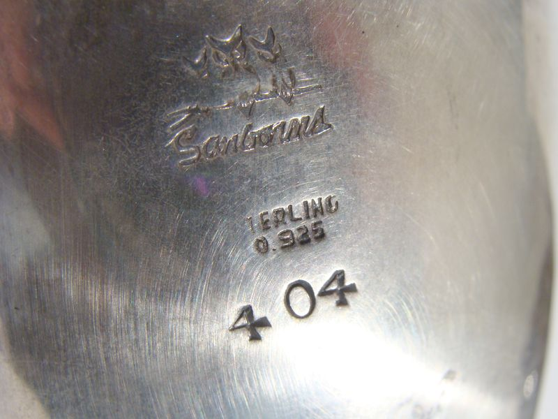 25162 Sanborns Sterling Silver Boat (5)